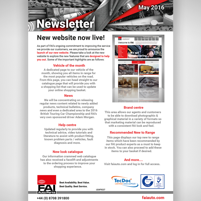 May Newsletter 650x650