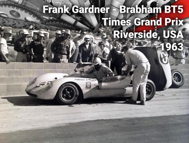Frank Gardner Riverside Brabham BT5